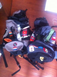 foto backpacks