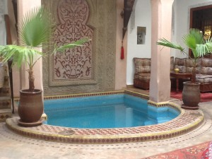 marokko marrakech plunge pool