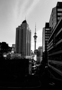 De Skytower in Auckland