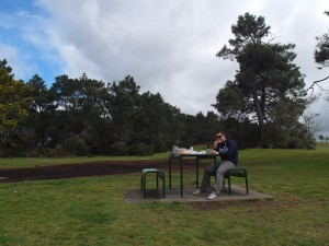 Ontbijt picknick in Taupo