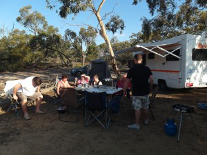 Aus VIC Little desert camping 2