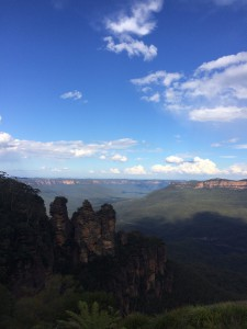 Aus NSW Katoomba blue mountains three sisters