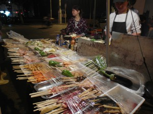 China Shanghai street food stal