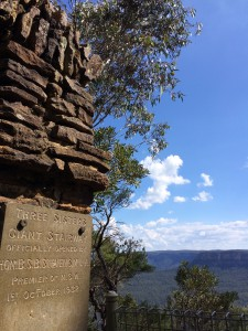 Aus NSW Blue mountains giant stairway