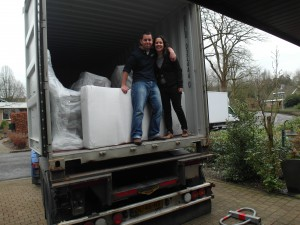 Alles is ingeladen, see you down under, container!
